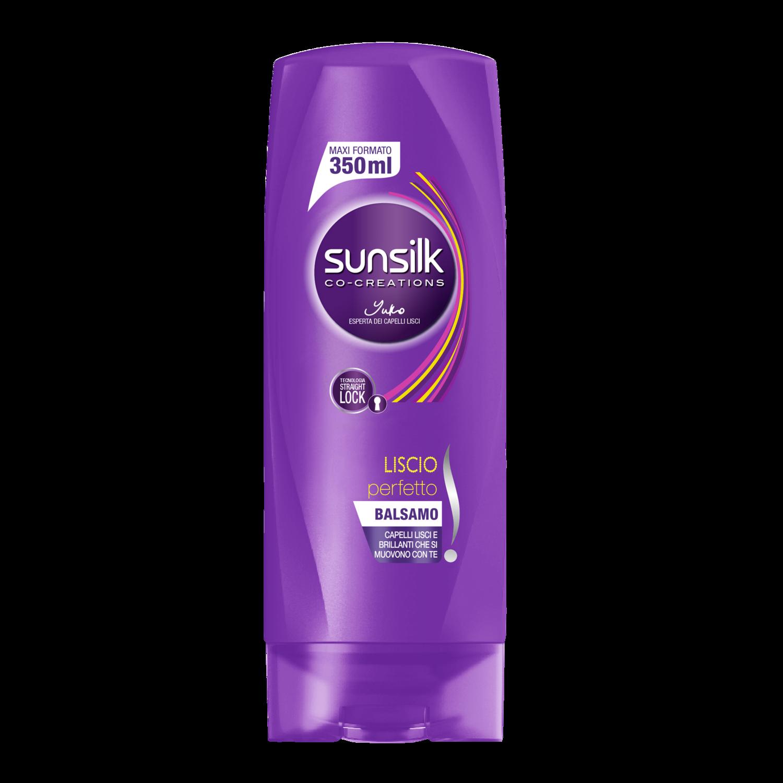 Shampoo e balsamo per capelli lisci